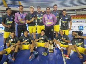 Sorriso-MT conquistou o título masculino. (Foto: Assessoria/Força Atlética)