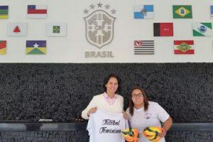 Valesca Araújo, gerente de desenvolvimento do futebol feminino da CBF. (Foto: CBF)